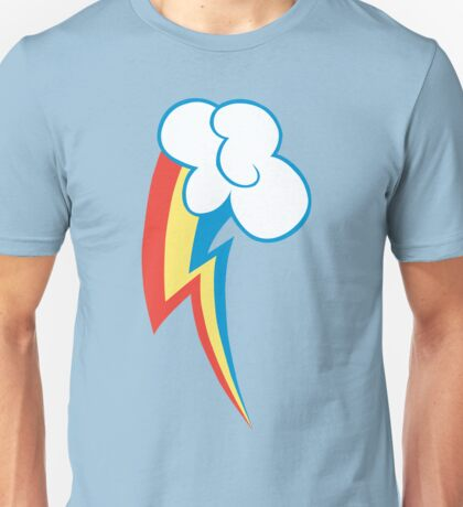 Rainbow Dash Cutie Mark Unisex T-Shirt