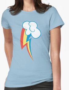 Rainbow Dash Cutie Mark Womens Fitted T-Shirt