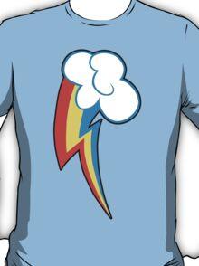 Rainbow Dash Cutie Mark (outline) T-Shirt