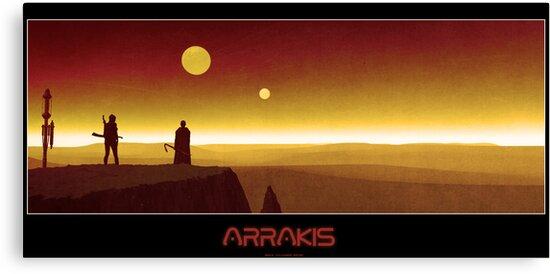 Arrakis by Shane Gallagher