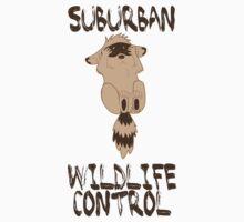 Suburban Wildlife Control Baby Raccoon Kids Tee