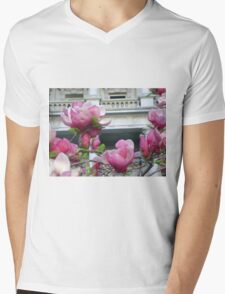 Pink Cherry blossoms, Washington DC Mens V-Neck T-Shirt
