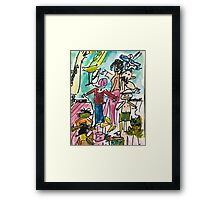Toys n kids Framed Print