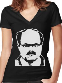 Dennis Rader - BTK Killer Women's Fitted V-Neck T-Shirt