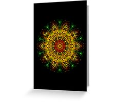 Shrine of the Deep Forest Holy - PostCardArt Greeting Card