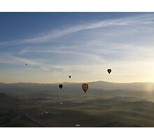 Sheer bliss, ballooning Photographic Print