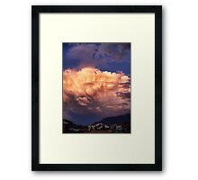 Tornado Cell Framed Print