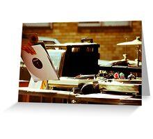 Rollover DJ Greeting Card