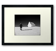 Giant steps are what you take ... Framed Print