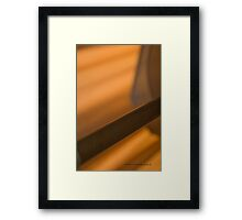 Afternoon Lamp © Vicki Ferrari Photography Framed Print