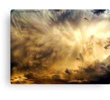 Raging Storm Cell Canvas Print