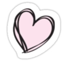 Tiny heart Sticker