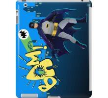 The Caped Crusader iPad Case/Skin