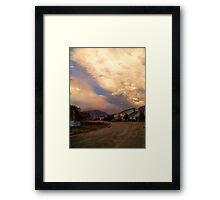 Two Storms Framed Print