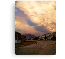 Two Storms Canvas Print