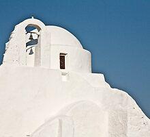 Pristine White Of Mykonos by phil decocco