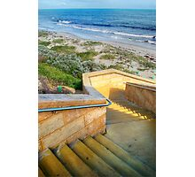 Seaside Stairs # 2 Photographic Print