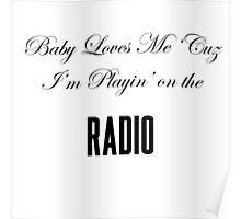 Lana Del Rey Radio Poster