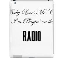 Lana Del Rey Radio iPad Case/Skin