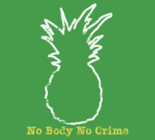 No Body No Crime Kids Clothes
