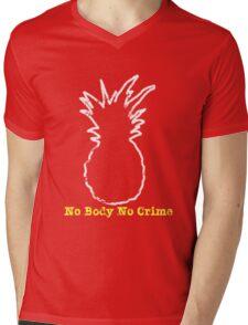 No Body No Crime Mens V-Neck T-Shirt