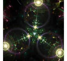 Tri Space Flux Photographic Print