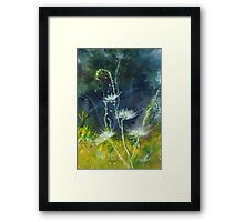White Flower 2 Framed Print