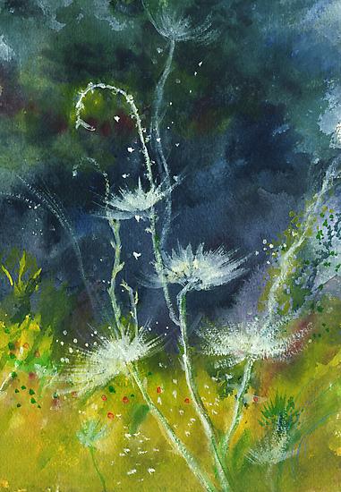 White Flower 2 by Anil Nene