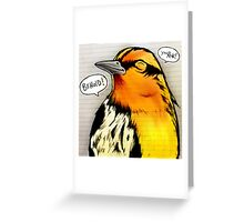 Bird Notes: Behold! Greeting Card