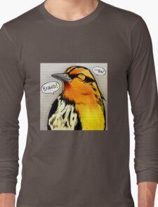 Bird Notes: Behold! Long Sleeve T-Shirt
