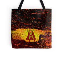 Superman Vs. San Andreas Tote Bag
