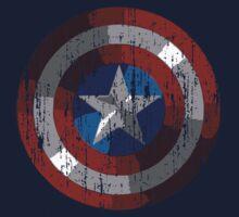 Captain America by saturdaytees