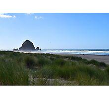 Haystack Rock, Cannon Beach, Oregon Photographic Print