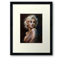 Marilyn romantic soft Framed Print