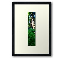 Slice of Life (vertical panorama) Framed Print