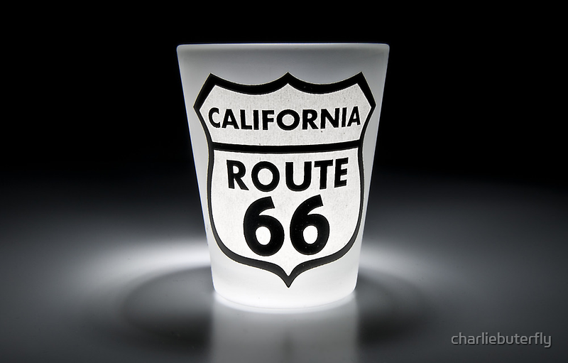 Route 66 - In a Shot by charliebuterfly