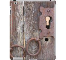 Keyhole in a Door iPad Case/Skin