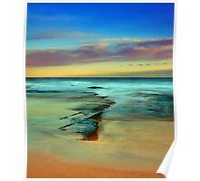 Racecourse Beach, Ulladulla, South Coast, NSW Poster