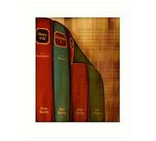 English Literature Art Print