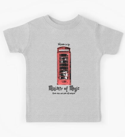 Welcome to the Ministry of Magic Kids Tee