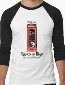 Welcome to the Ministry of Magic Men's Baseball ¾ T-Shirt