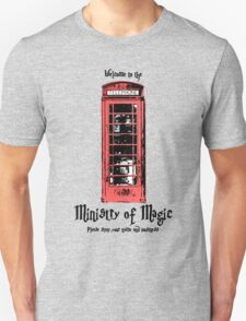 Welcome to the Ministry of Magic Unisex T-Shirt