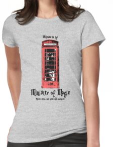 Welcome to the Ministry of Magic Womens Fitted T-Shirt