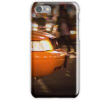 New York Cab Taxi iPhone Case/Skin