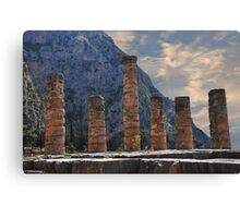 Temple of Apollo, Delphi Canvas Print