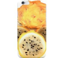Yellow Pitahaya Slices iPhone Case/Skin