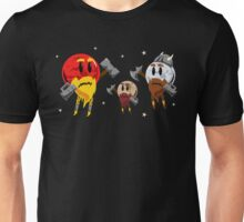 Red Dwarf, White Dwarf, Pluto the Dwarf Planet Unisex T-Shirt