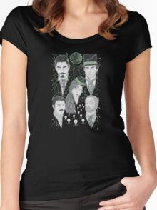 The Prestige - Green Variant Women's Fitted Scoop T-Shirt