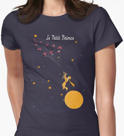 The Little Prince Womens Fitted T-Shirt
