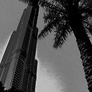 The Burj Khalifa by Chris Cardwell